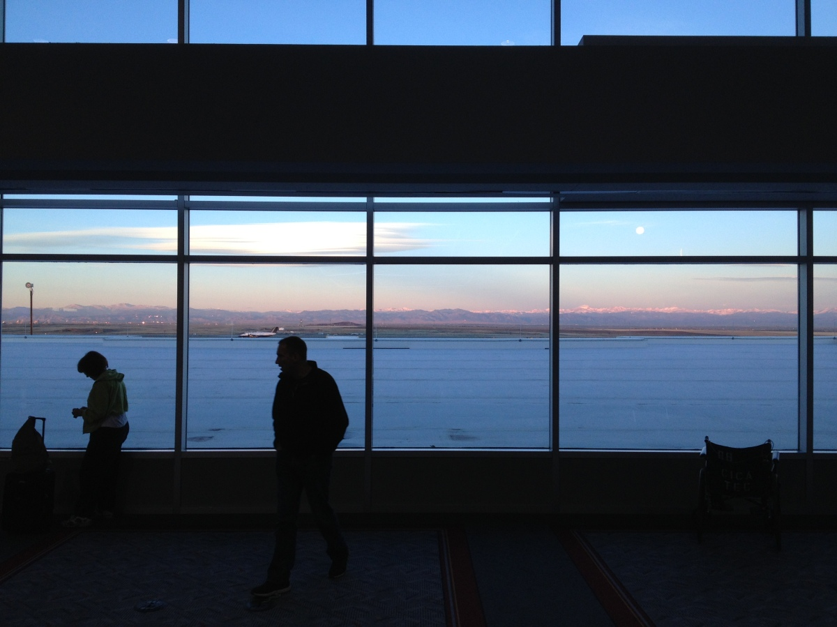 view out an airport window