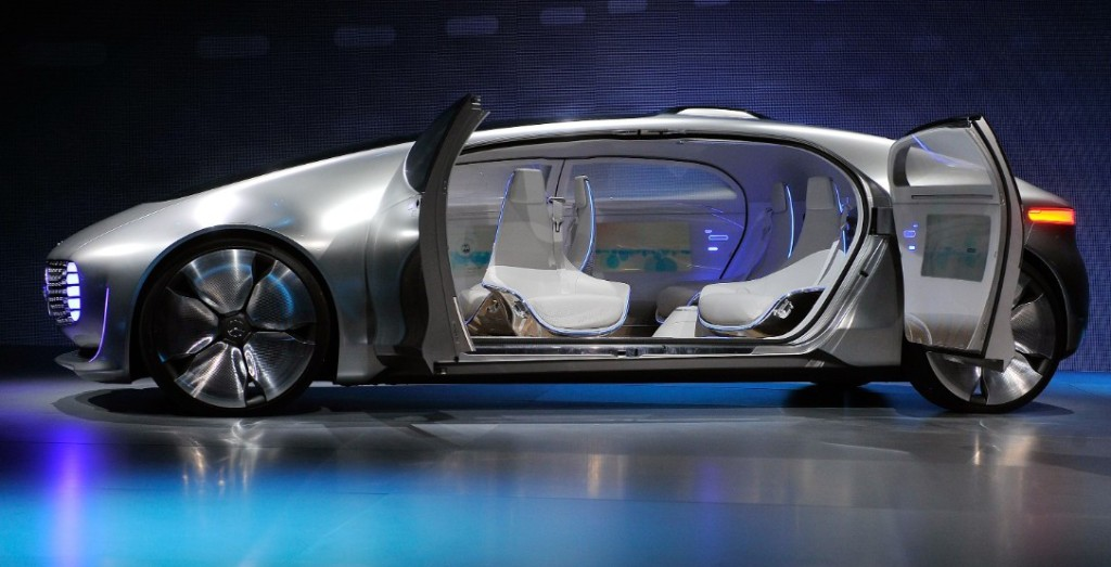 Mercedes Benz concept car for 2050.